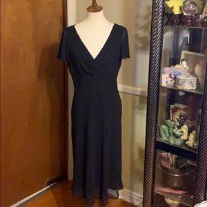 ❤️LIZ CLAIBORNE LITTLE BLACK DRESS 12